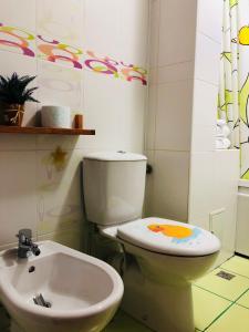 A bathroom at Mika's Home I
