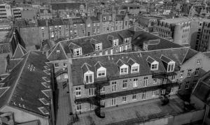 A bird's-eye view of Aberdeen ApartHotel