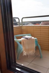 A balcony or terrace at Porto Gaia City and Beach by MP
