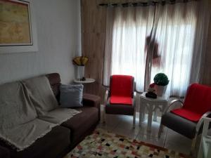 Zona de estar de Casa a 2 kilometros do mar de Canasvieiras