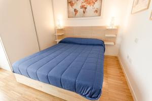 Letto o letti in una camera di Appartamento Emilio