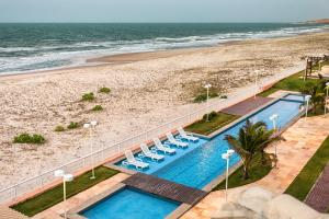A view of the pool at Dream Away Uruaú Beach Residences or nearby