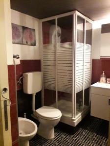 Ett badrum på Tulip & Lotus Apartments