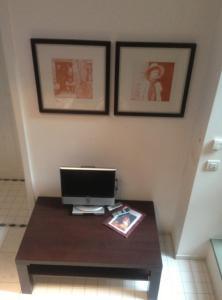 TV/Unterhaltungsangebot in der Unterkunft Apartmenthaus Saxonia
