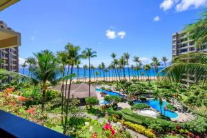 A view of the pool at Kaanapali Alii 456 Condo or nearby