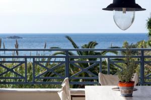 A balcony or terrace at Panorama Villas