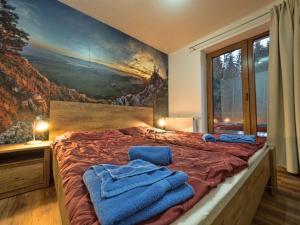 Posteľ alebo postele v izbe v ubytovaní Apartmanovy Dom Vila Vista