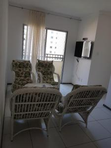 A seating area at condominio caminho dos ventos Aruana Aracaju SE