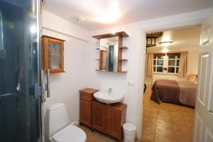 A bathroom at A Part of Reykjavík Apartments - Vesturgata