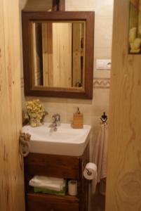 A bathroom at Cal Xoriguer