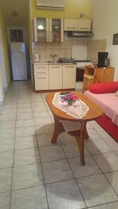 Køkken eller tekøkken på Apartman Ivkica