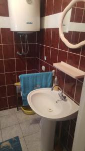 Et badeværelse på Apartman Ivkica