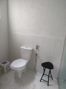 Un baño de Casa Frente Praia Porto Seguro