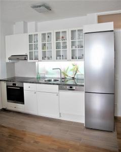 Küche/Küchenzeile in der Unterkunft Apartment Classic Salzburg