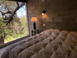 Una cama o camas en una habitación de Alma Tierra