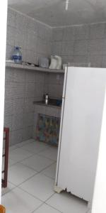 A kitchen or kitchenette at Apartamento Boa Viagem