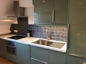 A kitchen or kitchenette at Zonnevloed