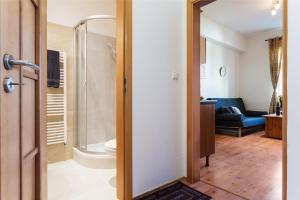Ένα μπάνιο στο Square view apartment