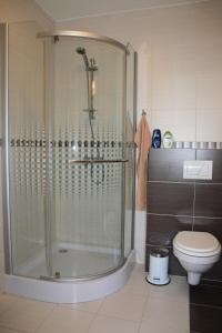 A bathroom at Skipension Jasná