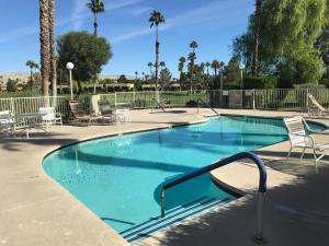 The swimming pool at or near Palm Springs-Desert Princess Country Club
