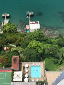 A bird's-eye view of Flat Sol Victoria Marina