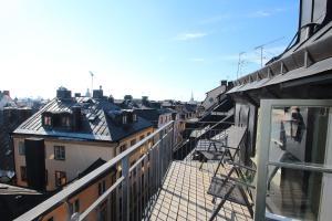 Balcon ou terrasse dans l'établissement Executive Living Old Town Unique
