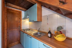 A kitchen or kitchenette at Bilo Soppalco Grosseto