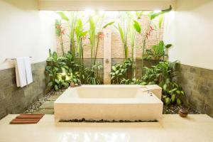 Salle de bains dans l'établissement Aria Exclusive Villas & Spa