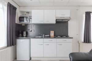 A kitchen or kitchenette at De Berkenhof