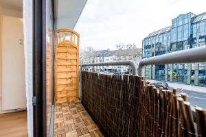 A balcony or terrace at Centerapartments Am Wehrhahn