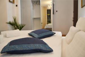 Krevet ili kreveti u jedinici u okviru objekta Apartment CRYSTAL