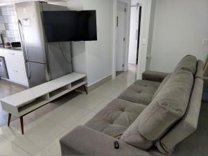 A television and/or entertainment center at Apto Golden Gate