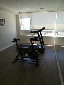 Gimnasio o instalaciones de fitness de Departamento nuevo. Maravillosa vista al mar. En Bosques de Montemar