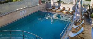 The swimming pool at or close to Anthena Studios
