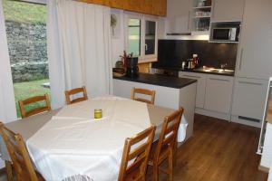 Küche/Küchenzeile in der Unterkunft Appartements Diablerets