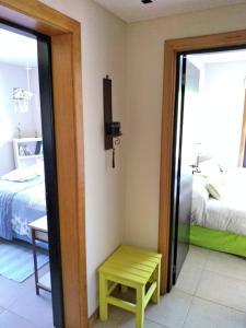 Una cama o camas en una habitación de Departamento Edificio Mascardi