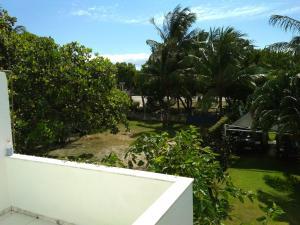 Un balcón o terraza en Casa Frente Praia Porto Seguro