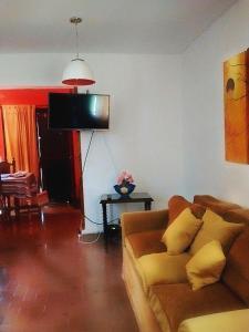 Un lugar para sentarse en Chalet Villa Gesell, Centro