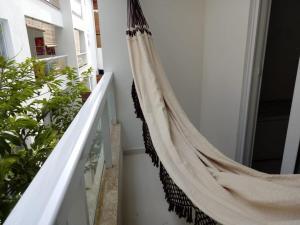Een balkon of terras bij Apartamentos Juliel