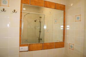 A bathroom at Ático con encanto