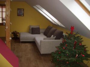 Posezení v ubytování Apartment Mikulov, Husova Ulice