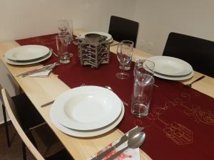 Restaurace v ubytování Apartmán 85
