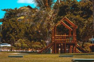 Children's play area at Nannai Residence Muro Alto