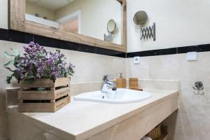A bathroom at Apartamento Pajaritos