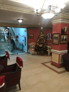The lobby or reception area at Grand Monastery Private Apartments