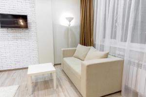 Гостиная зона в Prego Apartments in Vremena Goda