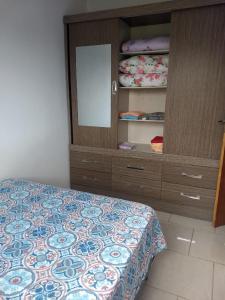 Cama o camas de una habitación en Residencial Fernet Branca