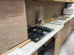 A kitchen or kitchenette at Apartment in Tirana