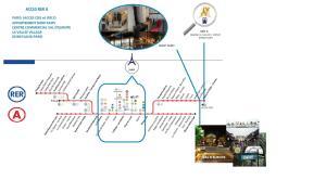 The floor plan of Shop Fairy