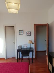 TV a/nebo společenská místnost v ubytování Pigneto Suite